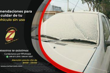 Cuarentena y tu cuida tu auto
