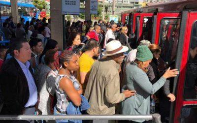 Congestión de personas